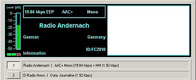 Radio Andernach to the frigate Niedersachsen off the Somalian coast