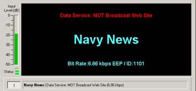 Navy News, Audo 0 / Data 1