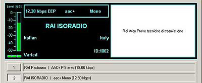 RAI ISORADIO on 846 kHz