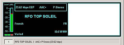RFO Top Soleil from SFN Villebon-Romainville on 999 kHz