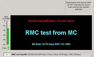 Test Transmission from Radio Monaco on 7160 kHz