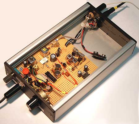 The finished 450 kHz to 12 kHz converter