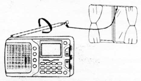The KCHIBO KK-DRM 01 with an external antenna