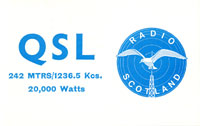 Radio Scotland (QSL No. 79)